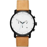 MVMT White Black Tan Chrono Herrenuhr MC01-WBTL von MVMT