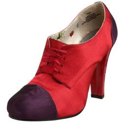 Madden Girl Damen Nadiia Oxford Pumps, Rot (Rot, Satin), 38.5 EU von Madden Girl
