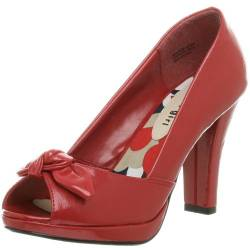 Madden Girl S Damen Cocco Open Toe Pumps, Rot (rot), 42 EU von Madden Girl