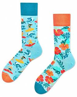 Many Mornings Lustige Socken - Aloha Vibes (35-38, Aloha Vibes) von Many Mornings