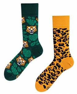 Many Mornings Socken - El Leopardo - Tiger (35-38, El Leopardo) von Many Mornings