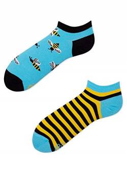 Many Mornings Socken Low unisex Knöchelsocken Bee Bee (39-42) von Many Mornings