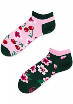 Many Mornings Socken Low unisex Sneakersocken Knöchelsocken Cherry Blossom (39-42 CH) von Many Mornings