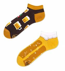 Many Mornings Socken Low unisex Sneakersocken Knöchelsocken Craft Beer (39-42 eu) von Many Mornings