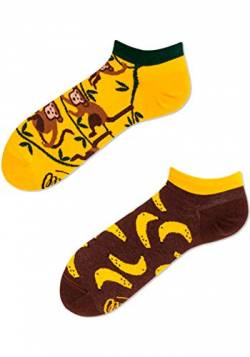 Many Mornings Socken Low unisex Knöchelsocken Monkey business (39-42) von Many Mornings