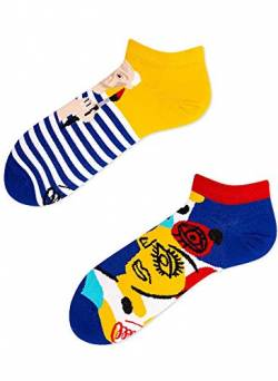Many Mornings Socken Low unisex Knöchelsocken Picassocks (35-38 PC) von Many Mornings