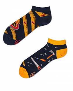 Many Mornings Socken Low unisex Knöchelsocken The Handyman (43-46 socks_paradise) von Many Mornings