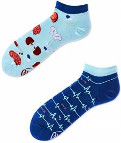 Many Mornings Socken unisex Knöchelsocken Dr Sock Low (43-46) von Many Mornings