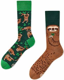 Many Mornings Socken unisex SLOTH LIFE Faultier (35-38) von Many Mornings