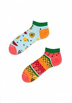 Many Mornings Socks - Sneaker Socks - fruits (43-46) von Many Mornings