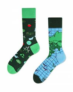Many Mornings Socks - Socken - Save the Planet - FROGINLOVE (39-42 EU) von Many Mornings