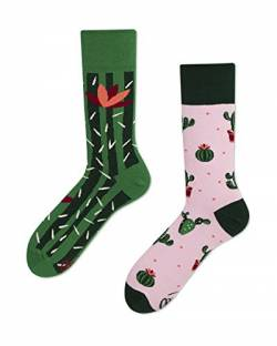 Many Mornings - Verrückte Socken - Damen -Summer Cactus - Kaktus - Gr. 39-42 von Many Mornings