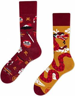 Many Mornings unisex Socken Asian Dragon/Drachen (39-42 DR) von Many Mornings