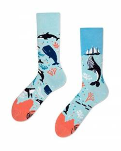 Many Mornings unisex Socken - Ocean Life (35-38) von Many Mornings