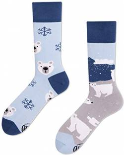 Many Mornings unisex Socken Polar Bear (43-46 PB) von Many Mornings