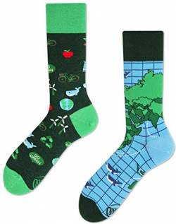 Many Mornings unisex Socken Save the Planet (43-46) von Many Mornings
