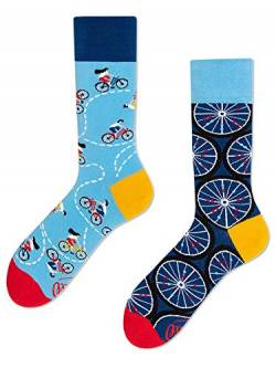 Many Mornings unisex Socken The Bicycles (43-46) von Many Mornings