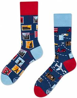 Many Mornings unisex Socken – The Traveler (43-46 Traveler) von Many Mornings