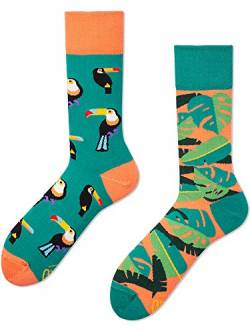 Many Mornings unisex Socken Tropical Heat (Mehrfarbig, 39-42) von Many Mornings
