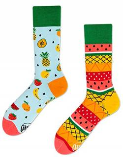 Many Mornings unisex Socken Tutti Frutti (43-46, Mehrfarbig) von Many Mornings