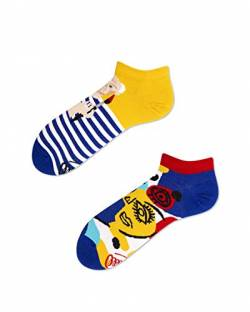 Many Mornings - verrückte Sneaker Socken - Picassosocks Gr. 43-46 von Many Mornings
