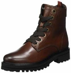 Marc O'Polo Damen 00815966301152 Oxford-Stiefel, 790 Dark Brown, 37 EU von Marc O'Polo