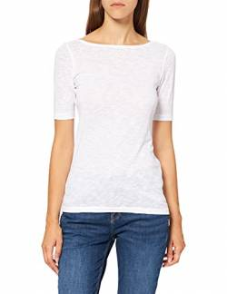 Marc O'Polo Women's 002226151399 T-Shirt, Weiß (White 100, M von Marc O'Polo