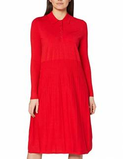 Marc O'Polo Damen 808518367069 Kleid, Rot (Lipstick Red 344), 40 von Marc O'Polo