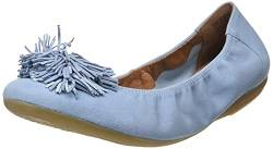 Marc Shoes Damen Janina Ballerinas, Kid Sued Blue, 40 EU von Marc Shoes