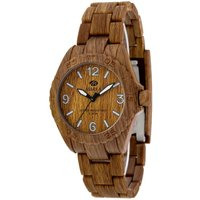 Marea Wood Look Damenuhr in Braun 35297/5 von Marea