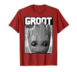 Marvel Guardians Vol. 2 Baby Groot Close-Up T-Shirt C1 von Marvel