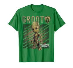 Marvel Guardians Vol. 2 Baby Groot Shield Graphic T-Shirt C1 von Marvel