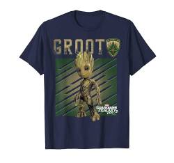 Marvel Guardians Vol. 2 Baby Groot Shield Graphic T-Shirt C2 von Marvel