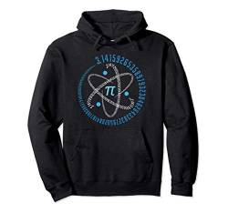 Atom Pi Math Science STEM Gift 3.14 Pi Day Pullover Hoodie von Math Geek Pi Day - Hey Teacher!