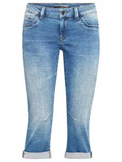 Mavi Damen Straight Jeans Alma, true blue sporty, 27 von Mavi