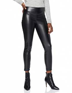 Mavi Damen Leggings Jeans, Black, L von Mavi