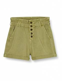 Mavi Damen Taylor Shorts, Green Washed down STR, 26 von Mavi