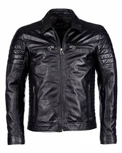Maze Herren Lederjacke William Black XL von Maze