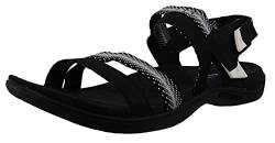 Merrell Damen District Mendi Backstrap Slingback Sandalen, Schwarz (Black), 37 EU von Merrell