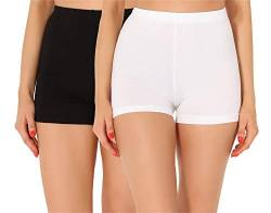 Merry Style Damen Shorts Radlerhose Unterhose Hotpants kurze Hose Boxershorts aus Baumwolle MS10-359