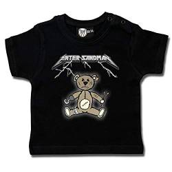 Enter Sandman (Metallica Tribute) - Baby T-Shirt Größe 80 von Metal-Kids
