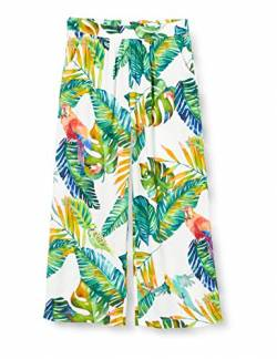 Mexx Girls Casual Pants, Tropical Printed, 116 von Mexx