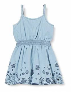 Mexx Girls Dress, Denim Light Wash, 116 von Mexx