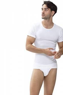 3ee96ac7e9adc4 Mey Basics Serie Casual Cotton Herren Shirts 1 2 Arm Weiß 4 von Mey