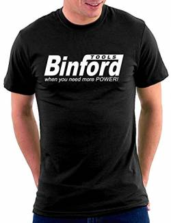 Binford Tools T-shirt, Größe M, Schwarz von Million Nation