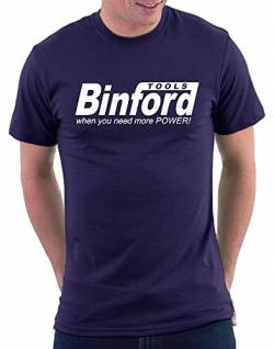 Binford Tools T-shirt, Größe XXL, Navy von Million Nation