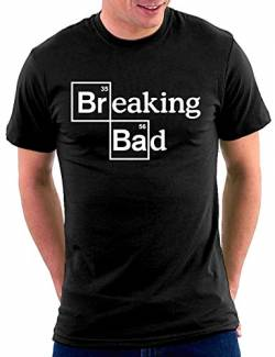 Breaking Bad Script T-shirt, Größe M, schwarz von Million Nation