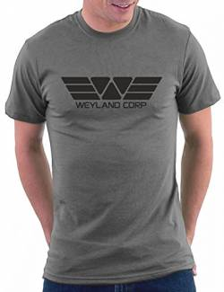 Million Nation Weyland Corp T-shirt, Größe M, Darkgrey von Million Nation
