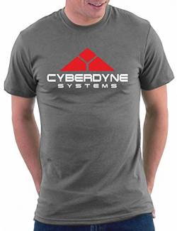 Terminator Cyberdine Systems T-shirt, Größe L, Darkgrey von Million Nation