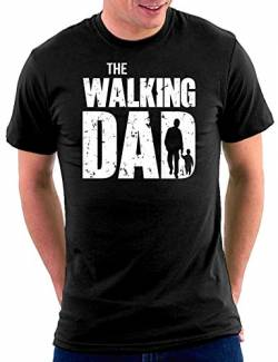 The Walking Dad T-shirt, Größe M, Schwarz von Million Nation